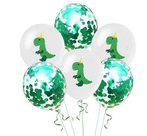 Dinosaur Party Supplies Dinosaure Ballons Papier Guirlande pour Enfants Garçon Fête D'anniversaire Décoration jurassique monde fête jungle décoration GB641