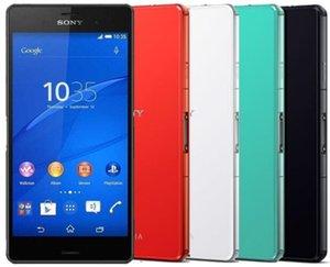 Восстановленное в Исходном Sony Xperia Z3 Компактный D5803 Разблокирована Сотовый Телефон Quad Core 2 ГБ / 16 ГБ 4.6 дюймов 20.7MP Камера 4 Г Lte