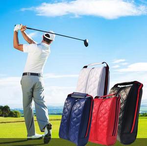 حقائب للجنسين جولف التخزين المحمولة الملابس التعامل مع بو الجلود حقائب الغولف للماء مع شحن مجاني