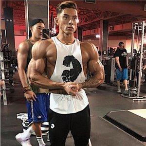 New Brand Clothing Summer Singlets Mens Tank Tops Shirt,Bodybuilding Equipment Fitness Men's Mesh Stringer Tanktop Vest MX200518