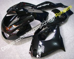 97-07 YZF1000R 100% nuova carenatura in plastica ABS per Yamaha YZF 1000 R Thunderace 1997-2007 Black Moto Fairings