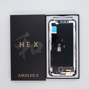 HE X AMOLED Repair part LCD For iPhone X - LCD Display Touch Screen Digitizer Complete Assembly Replacement
