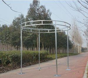 in metallo regolabile diametro rotondo Princess Pavilion di outdoor cerchio di nozze decorazioni di fiori telaio sfondo scaffale nozze 2M