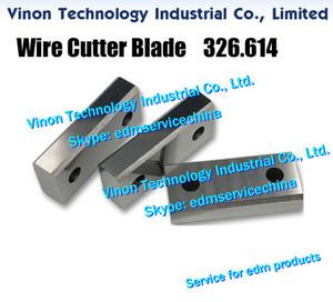 326,614 place Cutter A310 supérieure pour Agie AC100, AC150, AC170, AC270, AC370 la machine Agie de pièces de rechange 326.614.5, 3.266.145 coupe-fil de la lame
