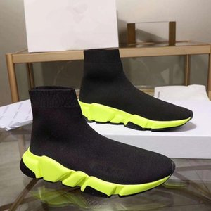 New Hot Sale Top Sock Shoe kids Paris Speed Trainer Running Shoes kids Fashion Sock Summer Casual Athletic Sport Sneakers bll180102709