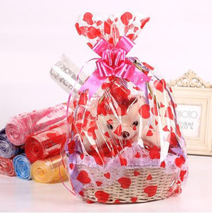 18*25 20*30 25*35 35*50cm Transparent Opp Plastic Wrapping Bag Candy Toy Gift Packaging Bags for Birthday Wedding Party Favors