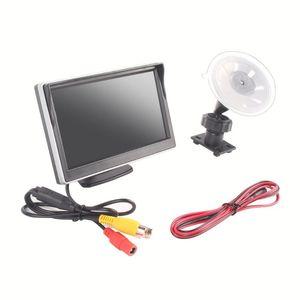 5 Inch Car Auto Monitor TFT LCD HD Digital 5: 3 800 * 480 Screen Display Rear View Backup Reverse Mirror Monitor