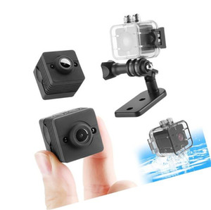 SQ12 Mini Cámara con Shell HD 1080 P Mini Videocámara DVR Motion DV Grabador Visión Nocturna Vídeo Micro Cámara Mini Cámara Cpy DHL