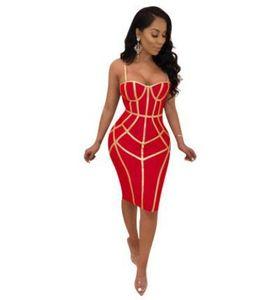 Women Sexy Prom Dress Spaghetti Strap Sexy Bodycon Dresses Backless Skinny Clothes