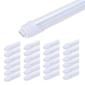 65W V em forma de tubo T8 LED Loja Luzes Duplo LED Side acende R17D Rotating 8 pés 45W 65W LED Lighting Armazém