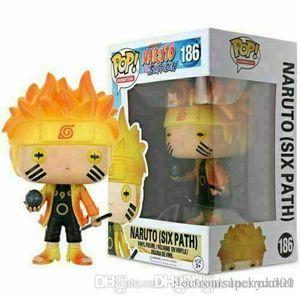 China Lucky Market Naruto (Six Path) #186 Funko Pop Vinyl Figure NARUTO Shippuden Toy Gift Xmas