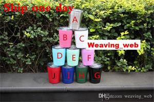 tasses Verres à vin MULTICOULEURS tasses à café pour enfants cadeaux avec couvercle et paille 8oz pour enfants tumbler 304 bouteille d'eau en acier inoxydable verre kid enfants