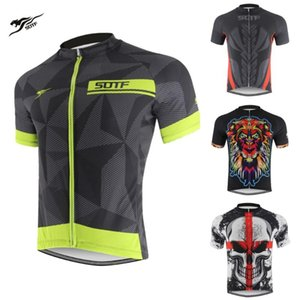 Geometric lines breathable Bicycle Wear Shirts winter retro cycling jersey maillot long sleeve cycling jersey men motocross sotf