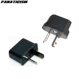 Fanaticism International Universal Travel 2 Pin AC Power Electrical Plug Adaptor Converter EU US To AU Plug Adapter Connector