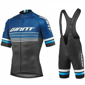 2019 NEUE Ankunft RIESEN team radfahren outfits männer bike jerery trägerhose anzug sommer schnell trocken fahrrad kleidung sportuniform Y050603
