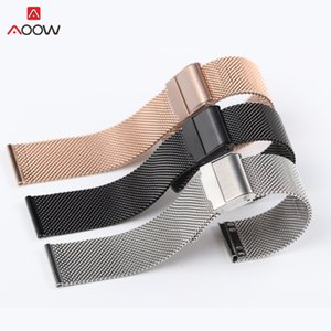 Watches Milanese Loop For DW Watchband 12 14 16 18 20mm Stainless Steel wrist strap watch Bracelet belt generic Milanese watchband