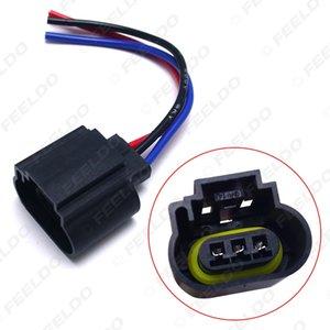 2adet Araba H13 Kadın Plastik Soket Vaka Halojen LED Far Tutucu Connector kablo Fiş Adaptörü # 1862