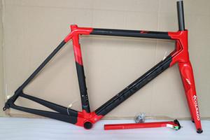 Rouge Colnago C64 cadre frameset de carbone vélo de route Cadre de vélo de carbone conception couleur noire frameset de haute qualité