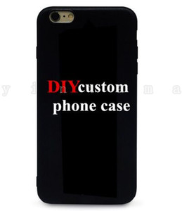 Custom Design DIY Logo Photo Hard Phone Case For 5 5S SE 6 6S 7 Plus Customized Printed Back Cover