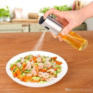 Vidro Olive Oil Sprayer Esvaziar Oil Vinagre pulverizador de óleo Dispenser para cozinhar Salada BBQ Kitchen Baking