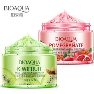BIOAQUA Maske Natürliche Pflanzenessenz Schlafmaske Gesichtscreme Gesichtsverjüngungsfeuchtigkeitsspendende Lifting Firm Hautpflege
