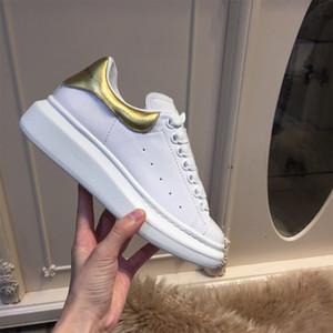 2020 новый дизайнерский бренд человек Повседневная обувь 18 цветов плоская мода кожа зашнуровать низкий вырез тренеры Runaway Арена размер туфли на платформе 36-45