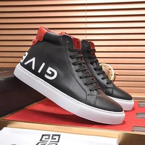 Yeni Geliş Lüks Stil Erkek Ayakkabı Moda Tipi Erkek Footwears Dantel -Up Ters Sneakers In Deri Ayak bileği Boots Bottes Hommes Erkek Ayakkabı Sal