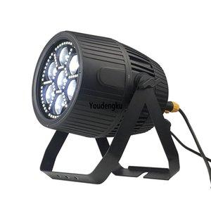10PCS 실외 LED PAR 줌 64 7 * 40w 4IN1 방수 LED 파 RGBW 줌 LED 파 라이트 IP65