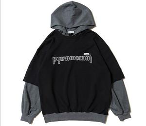 새로운 디자이너 Gosha Rubchinskiy 후드 스웨트 셔츠 코튼 후드 남성 여성 커플 자켓 패션 트렌드 티셔츠