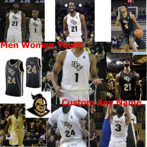 UCF Knights NCAA Kolej Basketbol Formalar Mens Terrell Allen Jersey Aubrey Dawkins Tacko Güz Myles Douglas Dayon Griffin Özel Dikişli