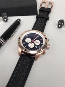 Vente chaude montre homme en acier inoxydable montre de luxe mécanique chronomètre à quartz sport nouveau chronographe montres 015