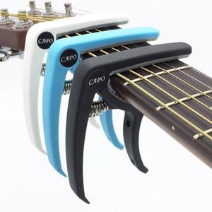Plastica Capo della chitarra per 6 corde acustica classica Guitarra elettrico Sintonia pinza Musical Instrument Accessori