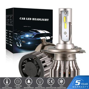 H4 Car LED Headlight Turbo Fan Blubs H7 Canbus 100W 12000LM 6500K 9005 9006 HB2 HB3 HB4 H11 H1 H8 H9 9003 Auto Lamps Foglight
