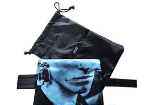 19SS Eastpak Raf Simons punks toile sac à bandoulière Sacs à main Totes hommes Raf Simons Impression Stuff Sacks Sacs de stockage