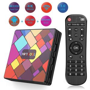 Hk1 COOL Android 9.0 TV Box 4GB 128GB Quad Core RK3318 2.4G 5G WiFi 4K Bluetooth Set Top Box