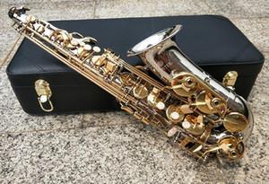 마우스 피스를 가진 새로운 대만 JUPITER JAS-1100SG의 Eb 알토 색소폰 골드 키 색소폰 알토 전문 악기는 무료 갈대