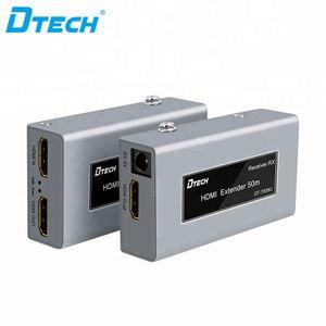Extender bölücü Full HD 3D 1080P 60Hz döngü HDMI video uzatıcı Popüler madde 50m cat5e Cat6 TV Kamera Adaptörü Ethernet Audio Video Splitter