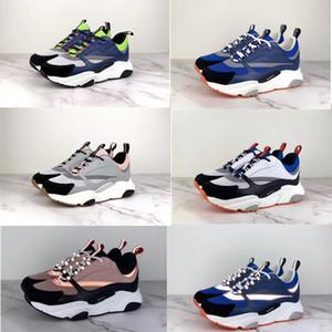 Дизайнер мужской обуви 3D Отражающих кожи кроссовки холста телячьей женщина обувь Европа Модные B22 технические удобные ботинки 35-46