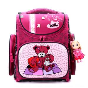 backpackbackpackbag mochila primaria de 9HMXB Nueva Delune los niños de dibujos animados femenina backpackbackpackbag escolar de los niños Nueva Delune SCH primaria