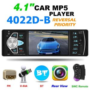 4022D Car Stereo MP5 Player Bluetooth USB TF Card AUX Radio In Dash Receiver Supporting Reversing Image and Video Output car dvd
