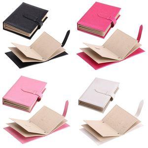 Scatole portaoggetti per orecchini a forma di orecchini a forma di libro con scatola portagioie PU Nero Blu Bianco Custodia Nuovo arrivo 9 5sp L1