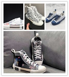 2019 Luxury Fashion high quality Sneakers Oblique Homme Men Women Fashion Designer Casual Shoes High Top Sneakers Sneakers
