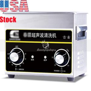 3.2 آلة كهربائية L بالموجات فوق الصوتية الرقمية من الفئة الفنية مع الموقت ساخنة الفولاذ المقاوم للصدأ خزان تنظيف 110V / 220V