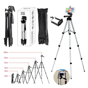 Treppiede Nero Digital Camera Holder 3 del telefono mobile Anchor Fotografia Camera Tripod Live Streaming macchine fotografiche digitali Bluetooth Holder 102m