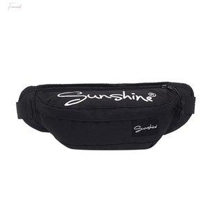 H40 Streetwear Casual Crossobdy Bags For Women Men Waterproof Shoulder Messenger Chest Bag Unisex Pockets Mobile Phone Pouch