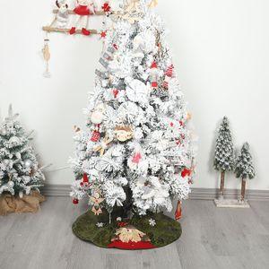 2019 Yılbaşı Ağacı Etek Giriş Katı Mat Önlük Kapak Noel Partisi Ev Dekorasyonu Noel ağacı Ayak Kapak Halı Home For New Year
