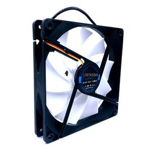 slient silencioso silencioso 140mm ventilador de refrigeración 140 * 140 * 25mm DC12V 0.30A (nominal 0.18A) 880RPM 15DBA caja de la PC de la computadora axial