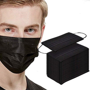 Festive & Party Supplies Black Face Mouth cover Respirator party Mask Party Favor gift boom2017
