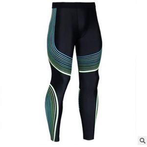 2019 Casual Mens Compression Pants Laufhose Männer Jogger Joggen Dünne Sport Leggings Gym Fitness Athletic Hose Mit S-3XL