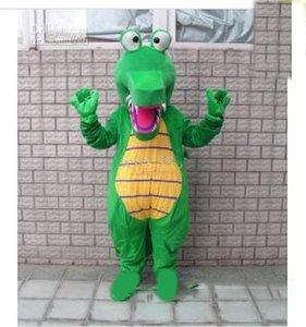 2018 Высокое качество горячего крокодила Аллигатор MASCOT COSTUME FANCY